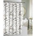 Floral Garden Beige Shower Curtain