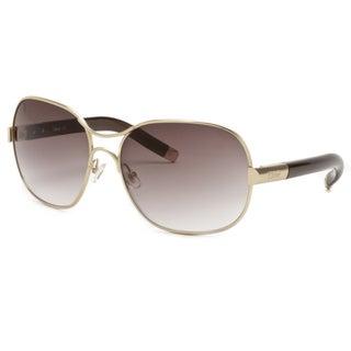 Chloe Women's Gold Fashion Sunglasses