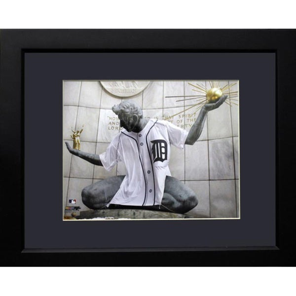 The Spirit of Detroit Deluxe Picture Frame (11x14)