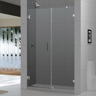 DreamLine UnidoorLux Frameless Shower Door (53