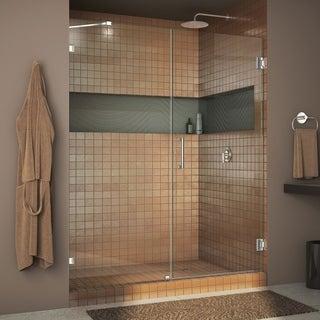 """DreamLine UnidoorLux Frameless Shower Door (49""""-52"""" x 72"""")"""