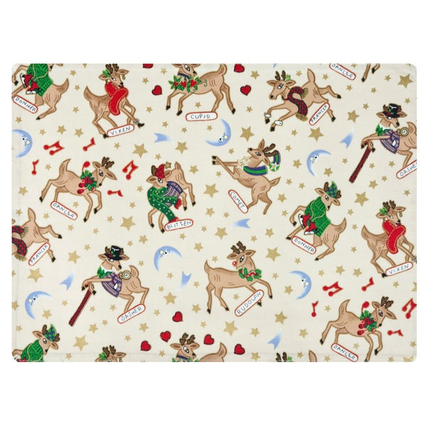 Rose Tree Rudolph Cream Place Mats (Set of 6)