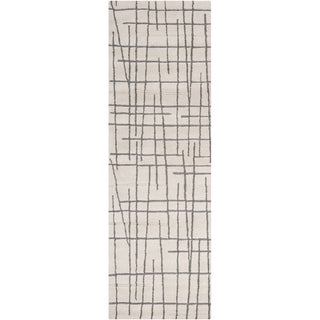 Hand-tufted Dixon Geometric Lines Wool Rug