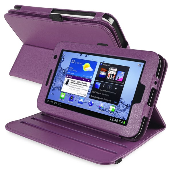 INSTEN Swivel Tablet Case Cover for Samsung Galaxy Tab2 P3100/ P3110/ P3113/ 7.0