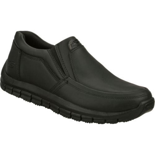 Men's Skechers Work Relaxed Fit Magma Solace Black