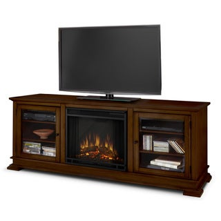 Real Flame Espresso Hudson Electric Fireplace