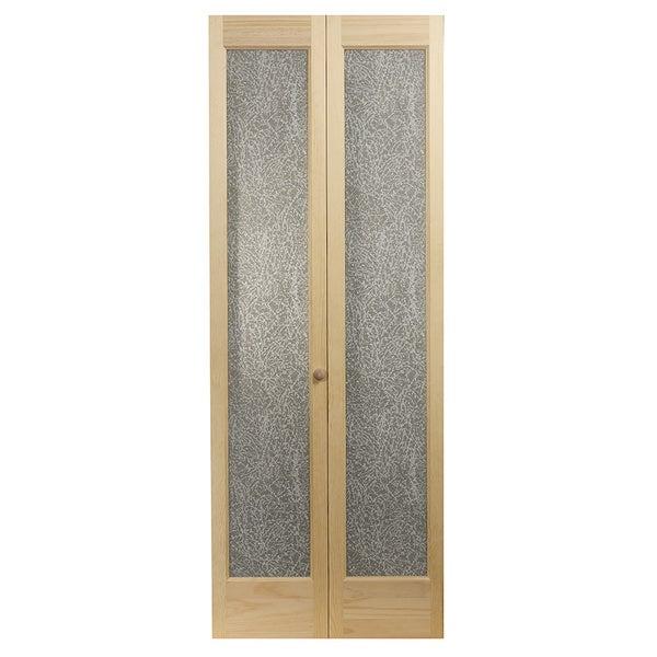 637 Crystaline Unfinished Bifold Door
