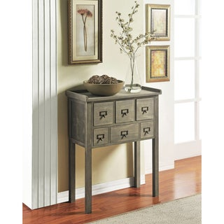 Altra Six Drawer Accent Console Table