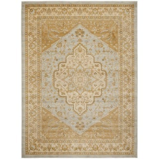 Safavieh Heriz Light Gray/Gold Area Rug (8' x 11')