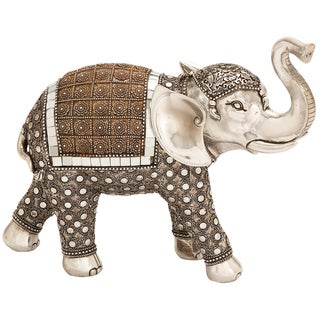 Lucky Standing Elephant Collectible Statue Figurine