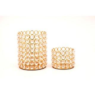 Crystal Beaded Tealights (Set of 2)