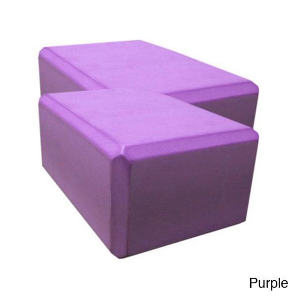 Yoga Saver 4-Inch Foam Block Set