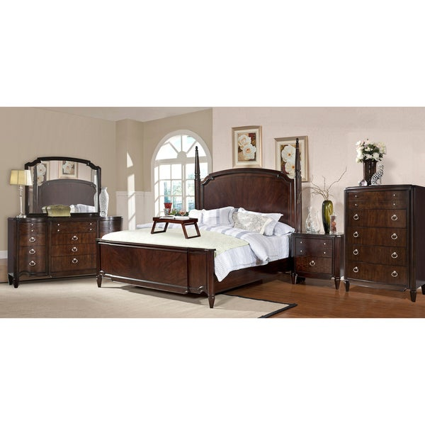 Milieu Park 5-piece King-size Poster Bedroom Set