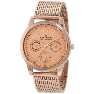 Anne Klein Women's Rose-gold Stainless Steel Watch