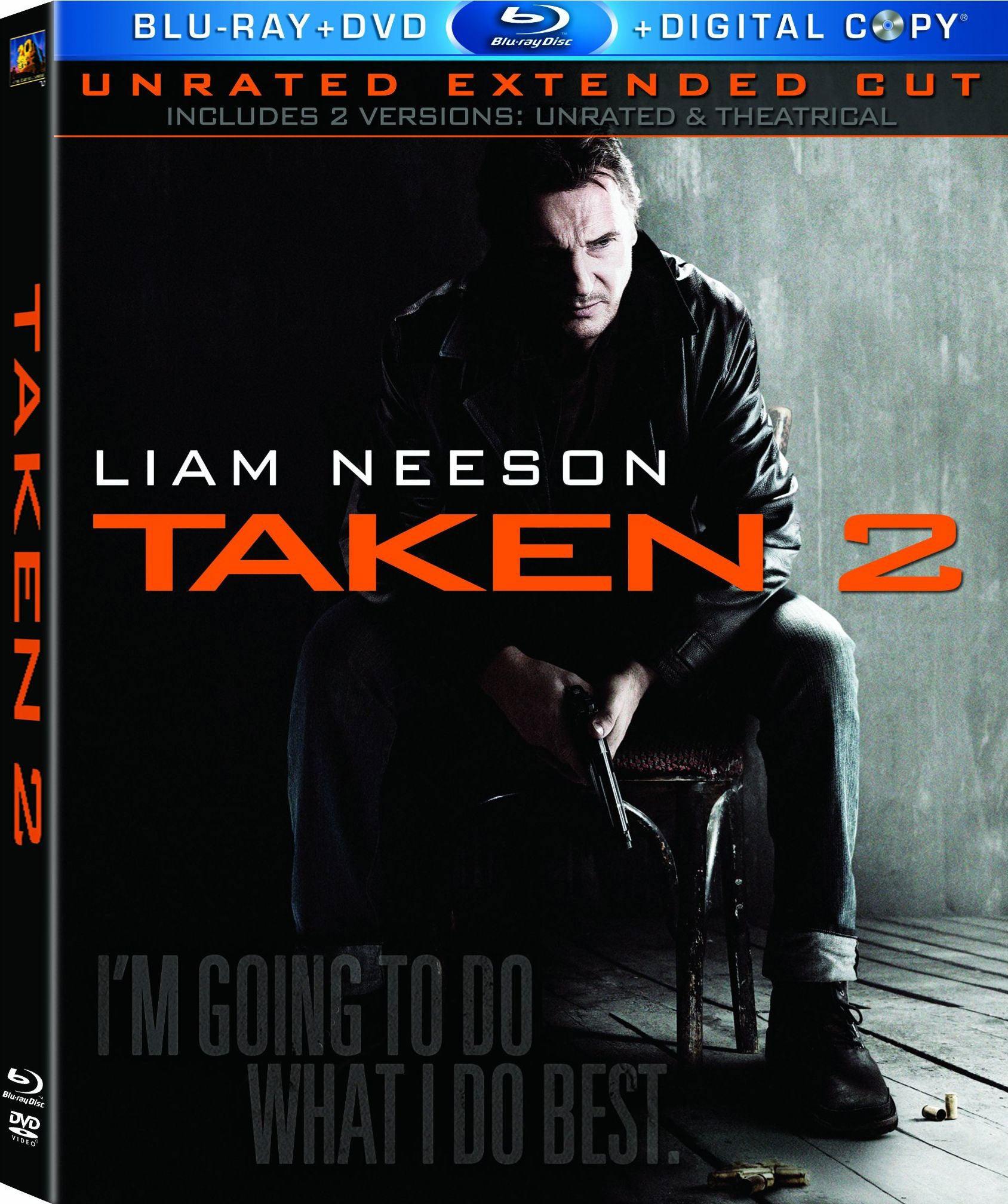 Taken 2 (Blu-ray/DVD)