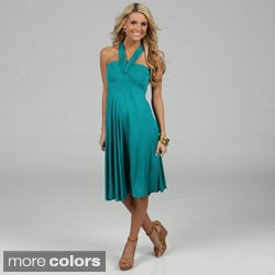 Elan's Women Convertible 8-way Dress