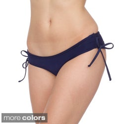 American Apparel Nylon Tricot Ruched Side-tie Bikini Bottom