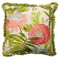 Rose Tree St Croix Decorative Floral Print 18x18-inch Pillow