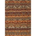 Transitional Oriental Multi Color Wool Tufted Rug (8&#39; x 11&#39;)