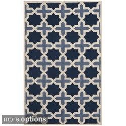 Safavieh Traditional Handmade Cambridge Moroccan Light Blue Wool Rug