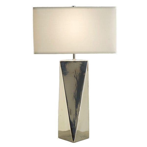 Prism Single-light Chrome Table Lamp