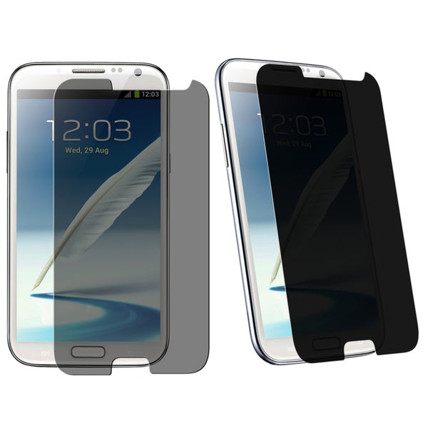 INSTEN Privacy Filter Protector for Samsung Galaxy Note II N7100