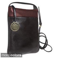 Alla Leather Art Crossbody Bag