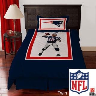 NFL Biggshots New England Patriots Tom Brady 4-piece Comforter Set