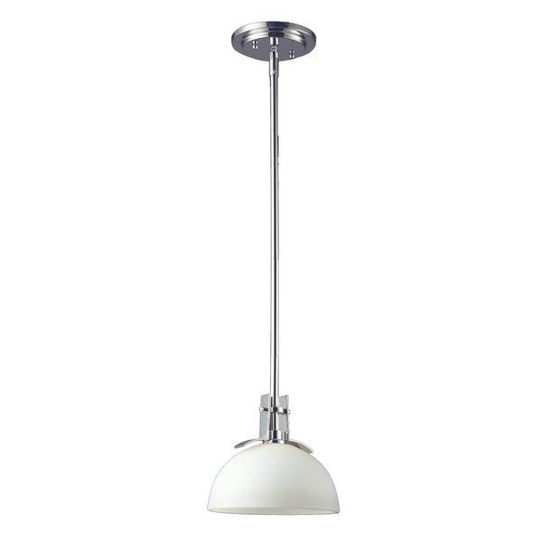 Ellipse 1-light Glass Shade Mini-pendant