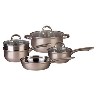 Oster Wetmarch 8-piece Stainless Steel Cookware Set
