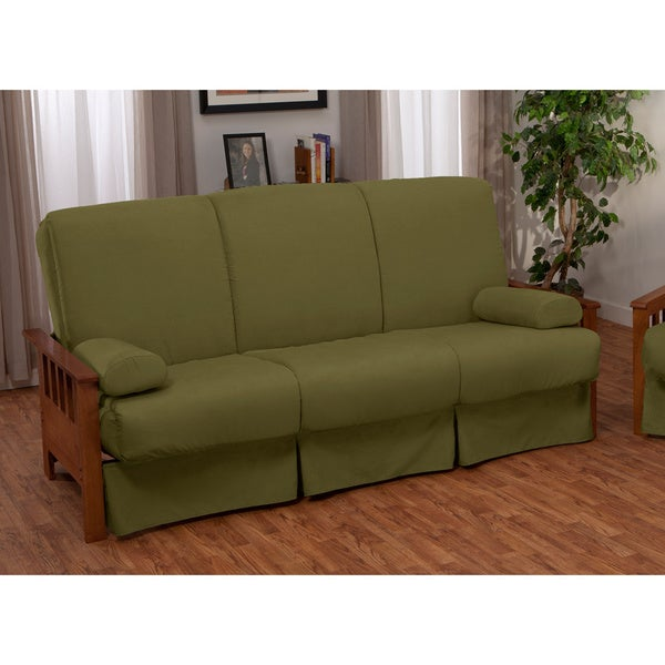 Provo Perfect Sit & Sleep Mission-style Pillow Top Full-size Sofa Bed