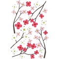 Martha Stewart Stickers-Dogwood