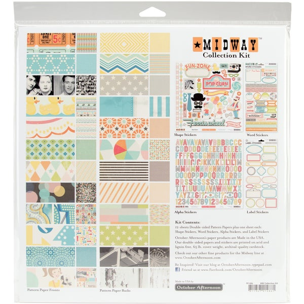 """Midway Collection Kit 12""""X12""""-"""
