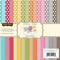 Sn@p! Color Vibe Collection Paper Pad 6&quot;X6&quot; 36 Sheets-