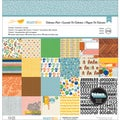 "Amy Tangerine Ready Set Go Collection Pack 12""X12""-18 Double-Sided Papers + Alpha Thickers"
