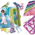 Style Me Up Beach Party Clothing Designer Sketchbook-