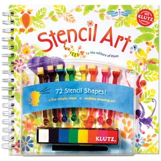 Stencil Art Book Kit-