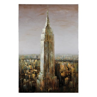 Lecavalier 'Empire State' Hand Painted Canvas