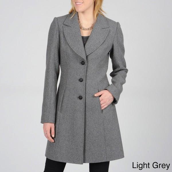 Ivanka Trump Women's Notch Collar Coat