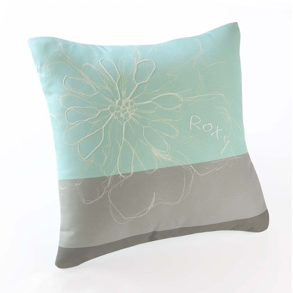 Roxy Huntress Floral Decorative Pillow