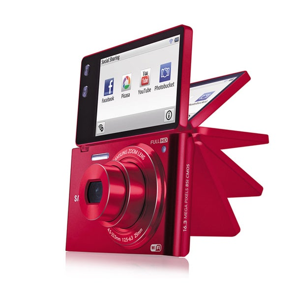 Samsung MV900 16.3MP Multiview Digital Camera