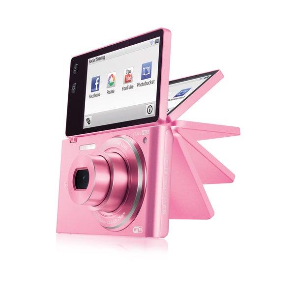 Samsung MV900 16.31MP Multiview Pink Digital Camera