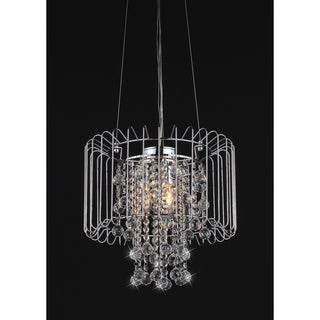 Cassandra Crystal 3-light Chandelier
