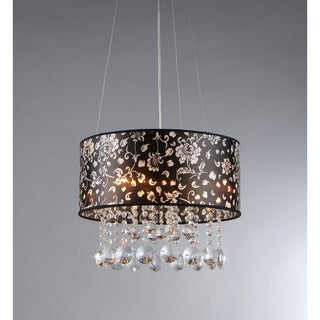Claire Crystal 3-light Chandelier