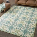 Nourison Vista Ikat Ivory Rug