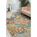 Nourison Vista Floral Ivory Rug