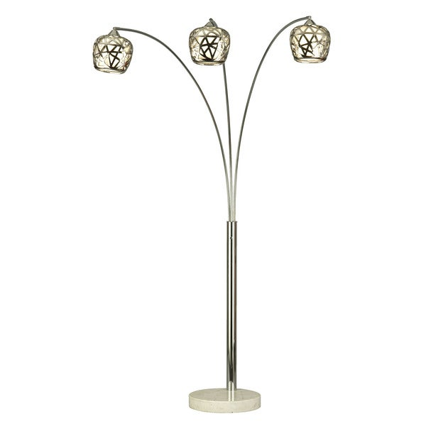 Birds Nest Arc Floor Lamp