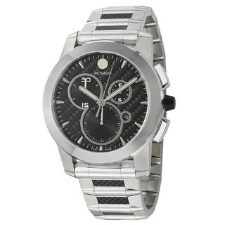 Movado Men's 0606083 Stainless Steel 'Vizio' Chronograph Watch