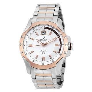 Bulova Men's 98B129 Stainless Steel Marine Star Watch