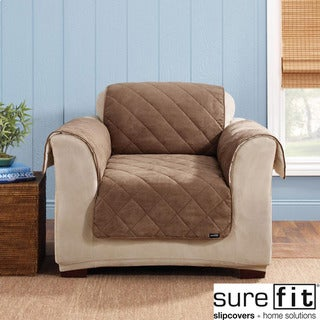 Sure Fit Reversible Cocoa Chair Cover